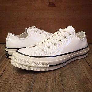 5c788ff0e7 Women s White Converse Off Brand on Poshmark